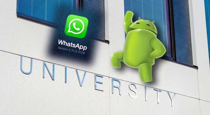 use WhatsApp on Android devices
